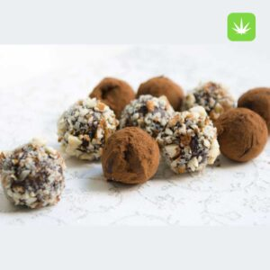 Buy cannabis dark chocolate truffles online